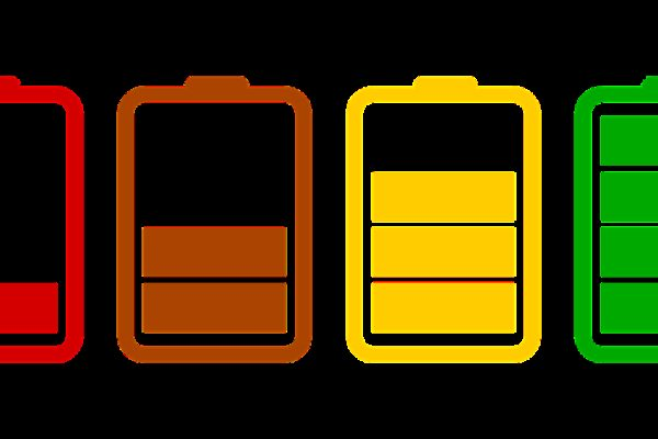 batteries, loading, icons