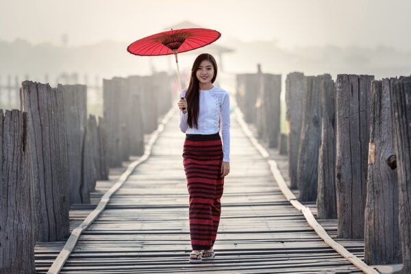 umbrella, vietnamese, tradition